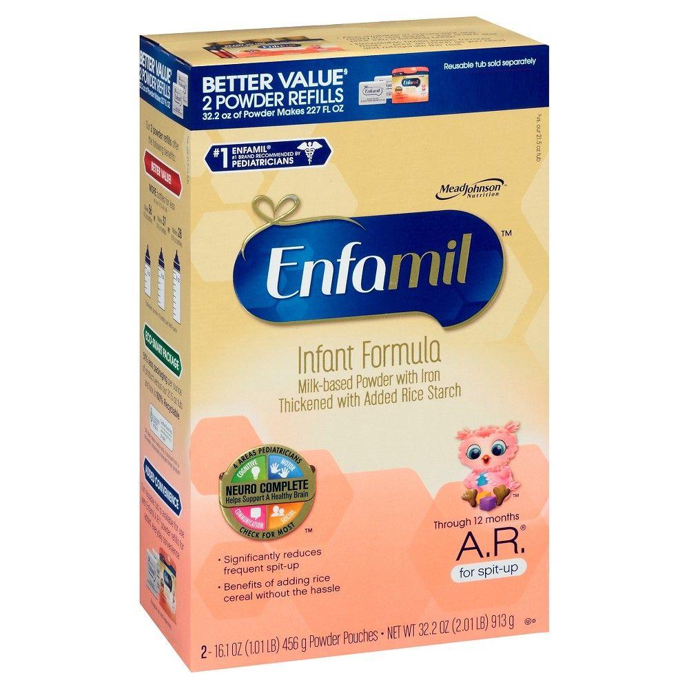 Enfamil A R Infant Formula Powder Refill Box 32 2oz Baby Formula