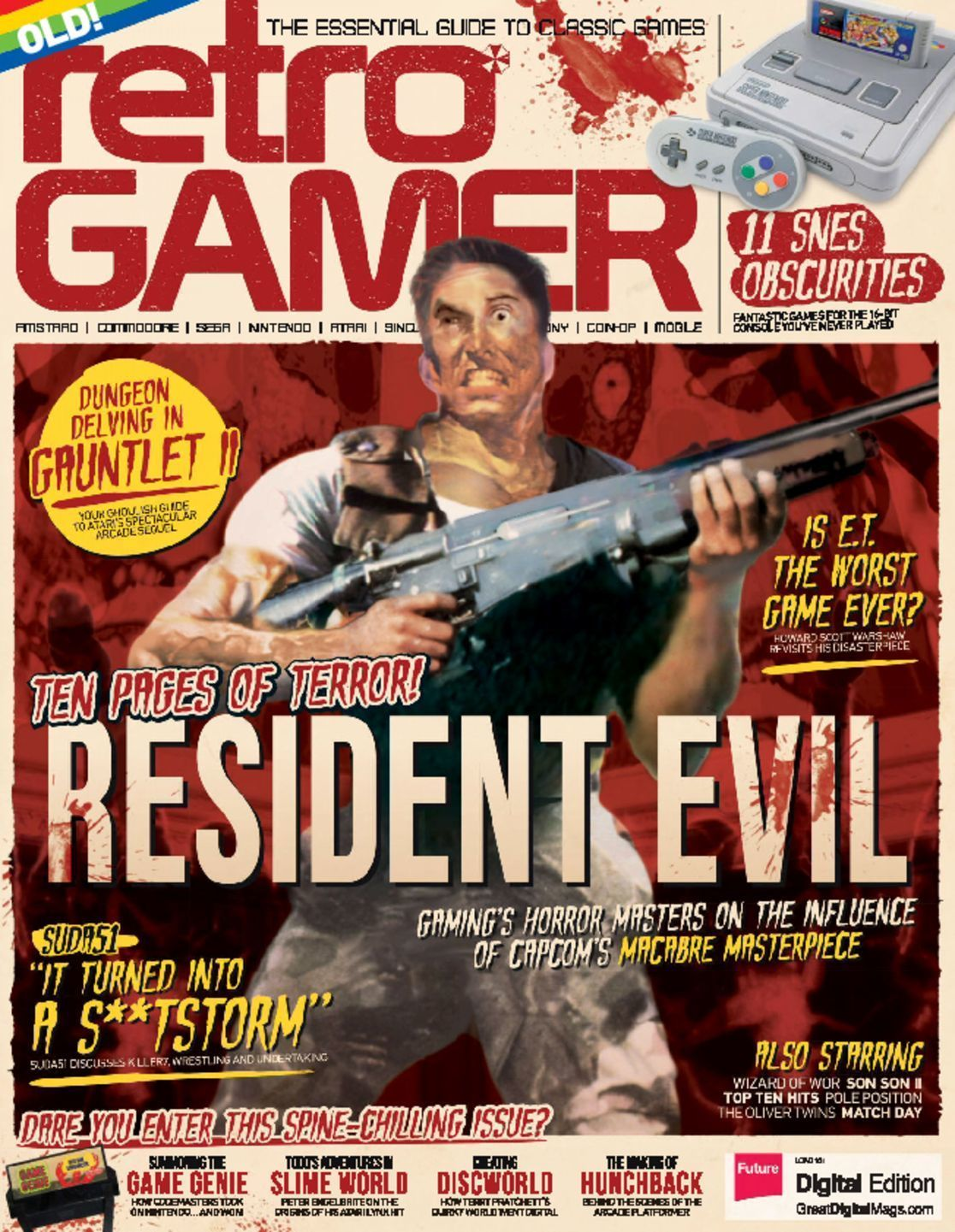 Retro Gamer Magazine (Digital) | Magazine Ideas | Retro gamer, Game