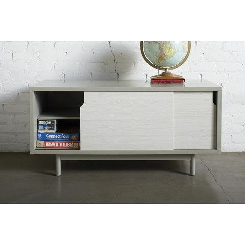 Too By Blu Dot Slide Tv Stand Gray Heidi What Do You
