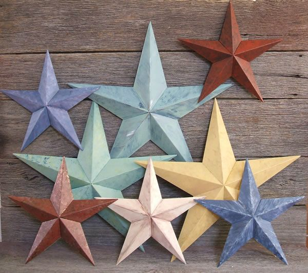 Vintage Barn Stars Are ONLY Available At Ju0027Ollie Primitives. These Vintage  Stars Will Instantly Brighten Up Your Home Decor!