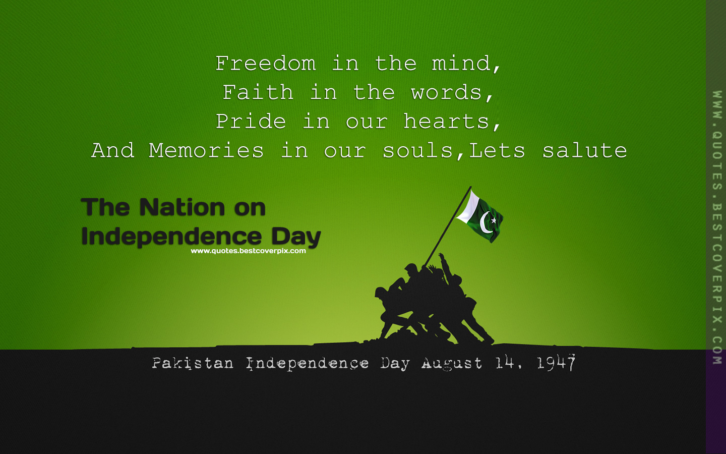 Pin By Haya Ihsan On Feelings Pakistan Independence Day Pakistan Independence Short Inspirational Quotes About Life