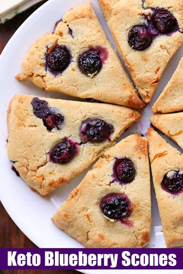 Keto Almond Flour Scones | Healthy Recipes Blog