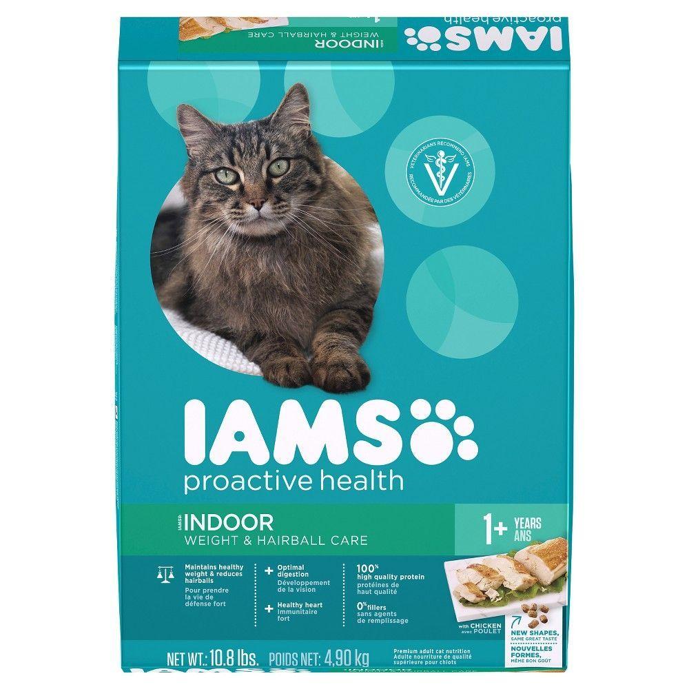 Iams Proactive Health Indoor Weight Hairball Care Dry Cat Food