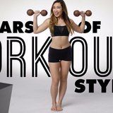 See 100 Years of Workout Style Pass Right Before Your Stunned Eyes