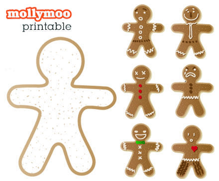 Fun Freebie  Gingerbread Free Printable And Activities