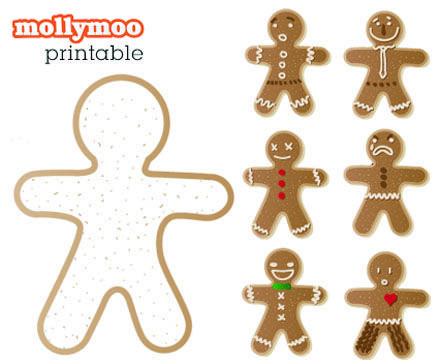 Fun Freebie Theme Christmas Gingerbread Pinterest Christmas