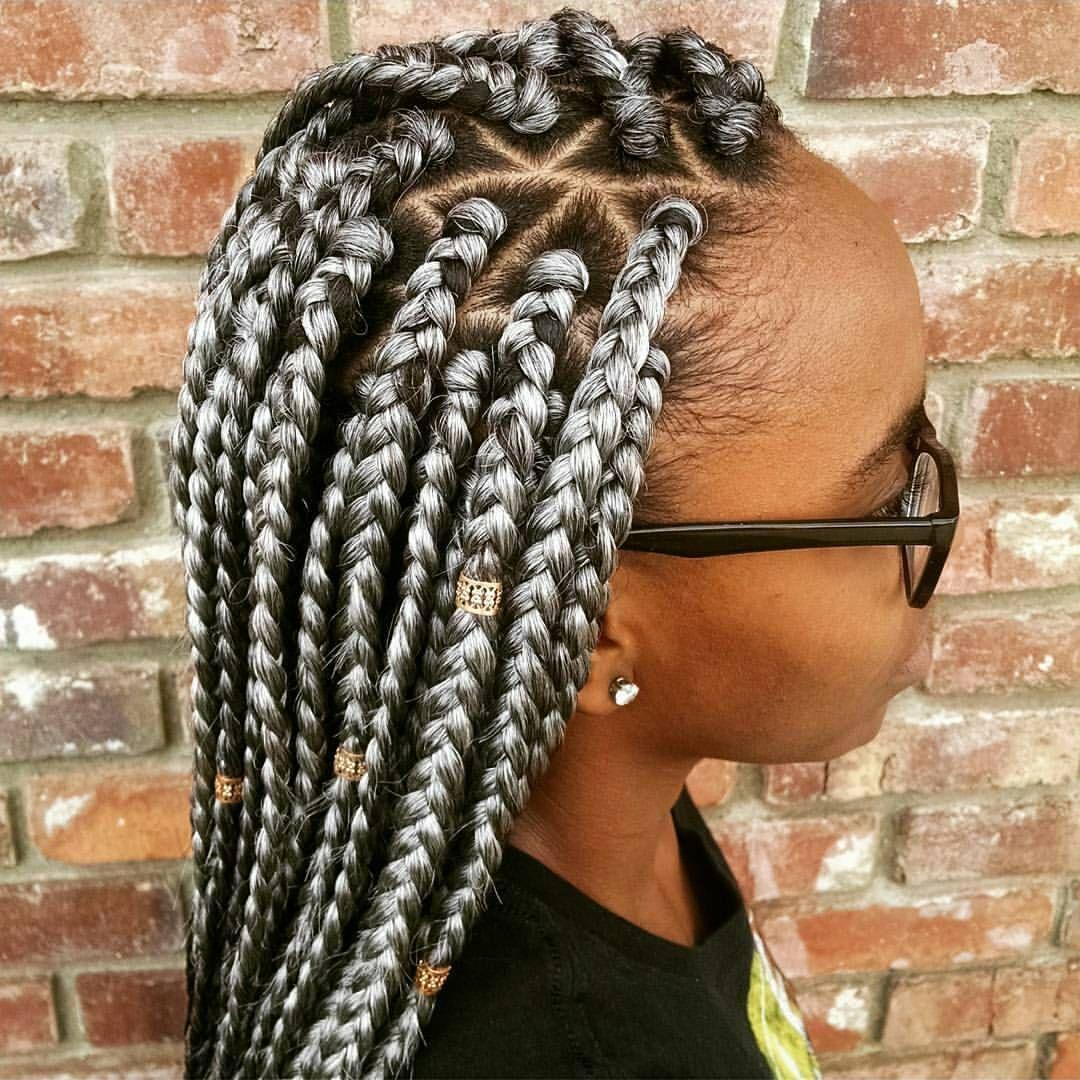 big part box braids - photo #9
