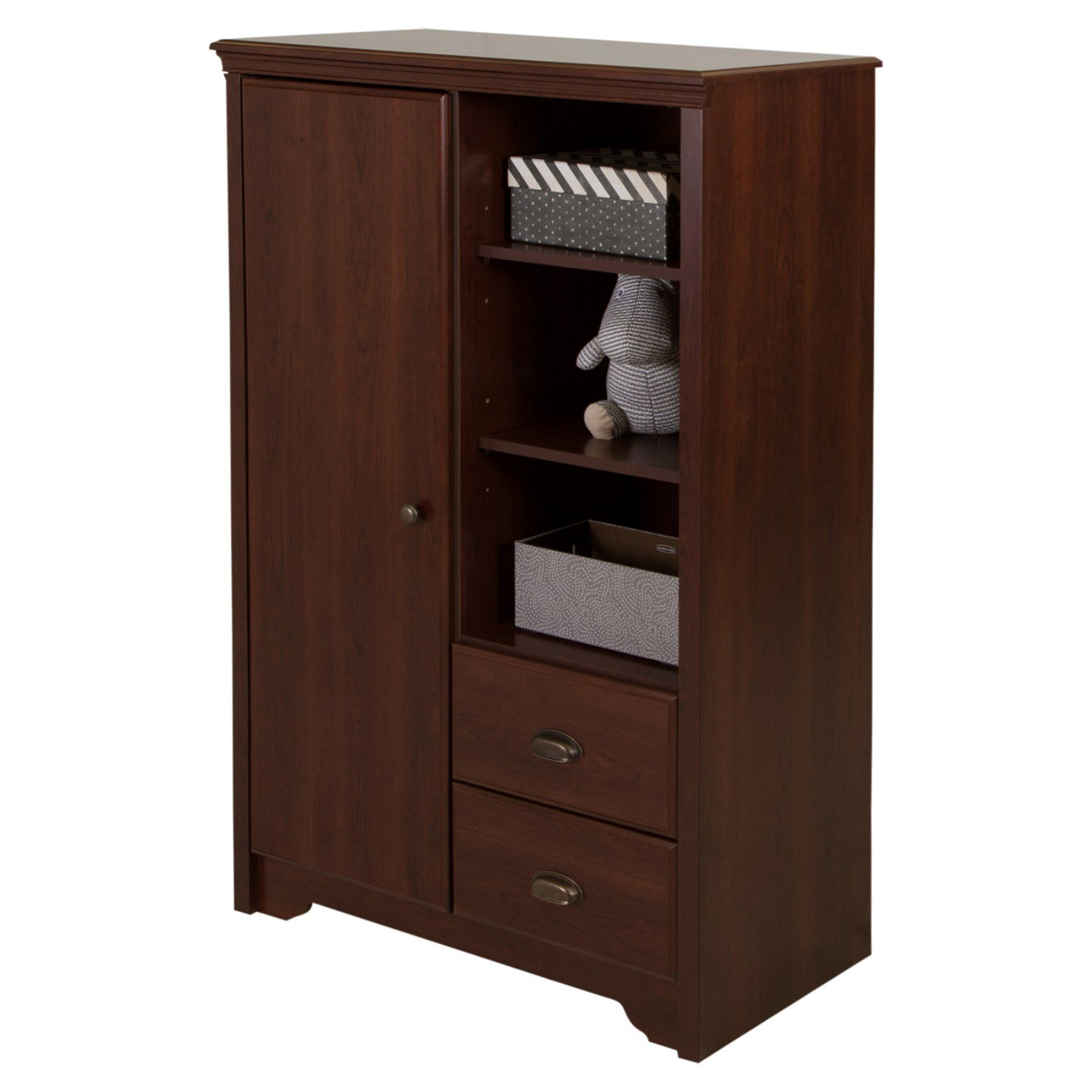 South Shore Fundy Tide Armoire with Drawers 9023038