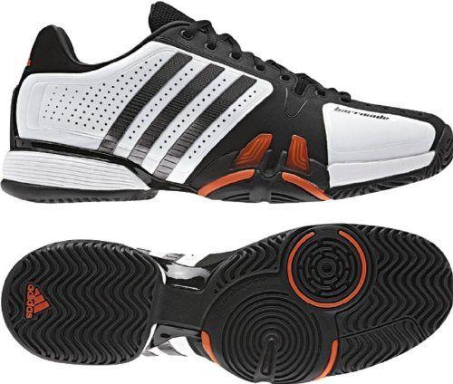 Adidas Adipower Barricade 7.0 Mens Tennis Shoes (White Iron Black)  124.95 e89205070364