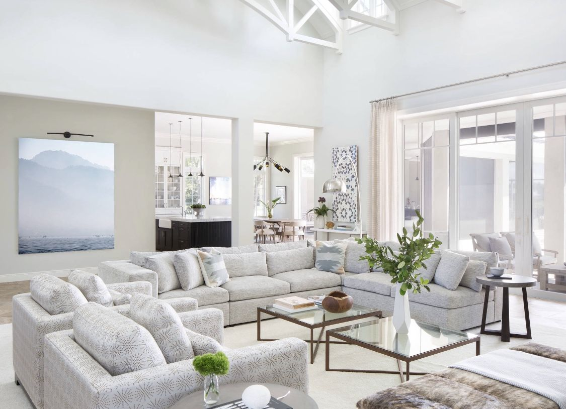 10 Amazing White Living Room Sectional