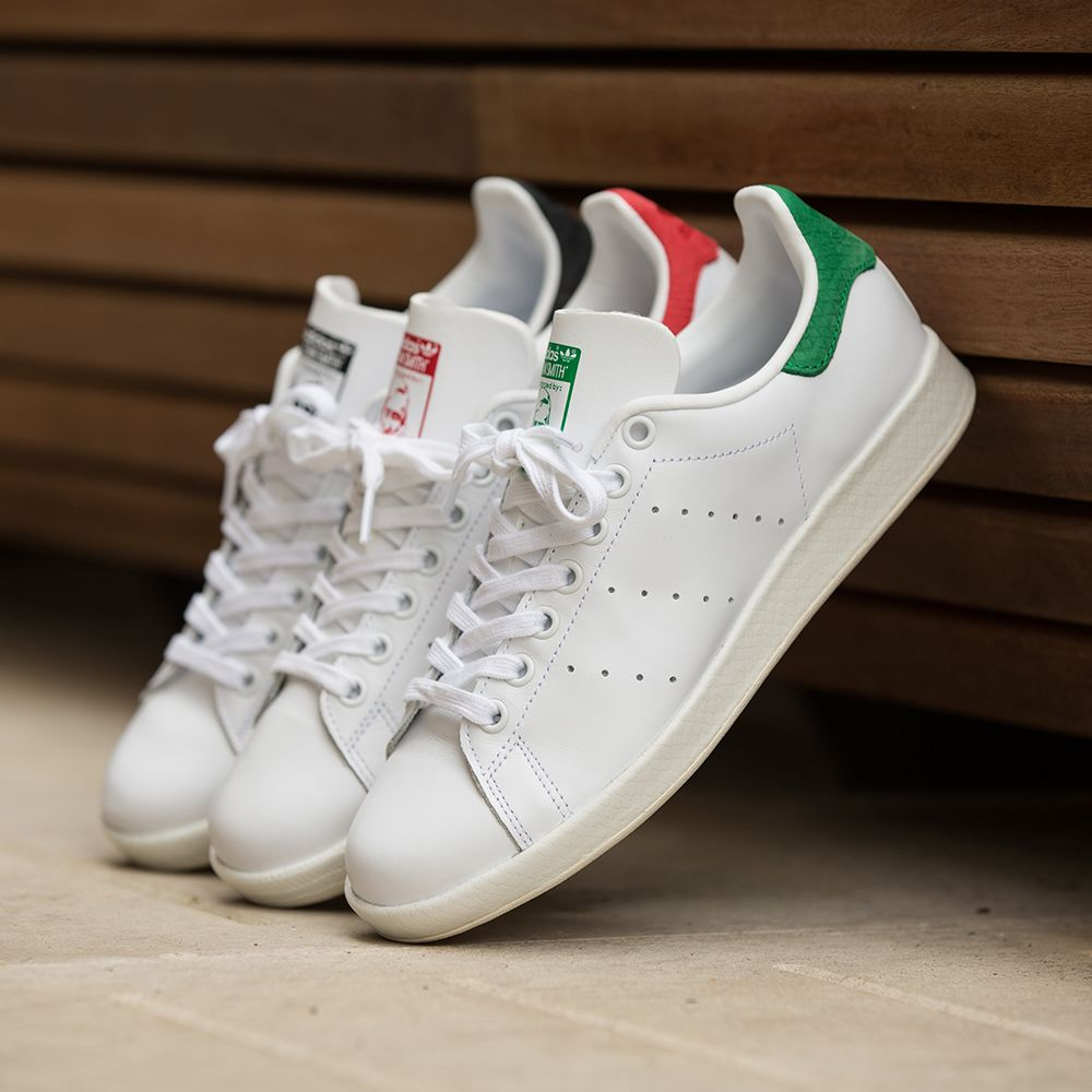 A core style for this summer, the adidas Originals Womens Stan Smith Luxe  Trainer.