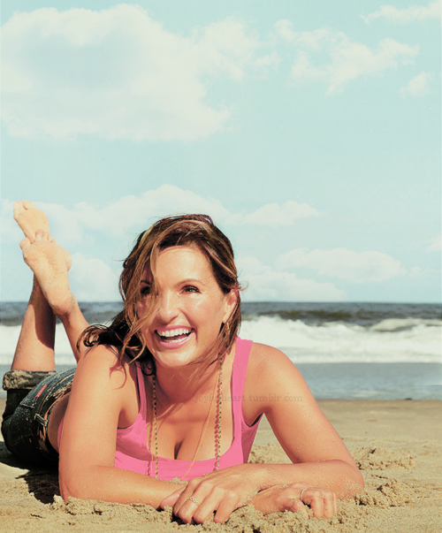 Mariska Hargitay. Love her as an actress and as a person. Founder and president of the Joyful Heart Foundation. So flawless.