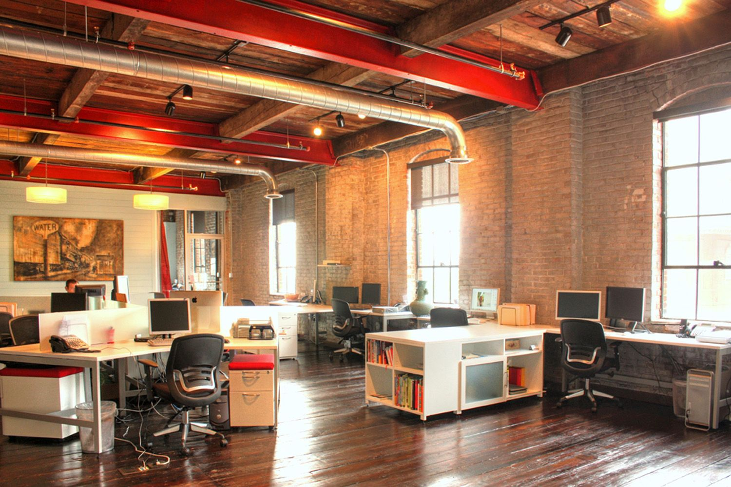 Iron Stone Strategic Capital Partners Industrial Interior Office