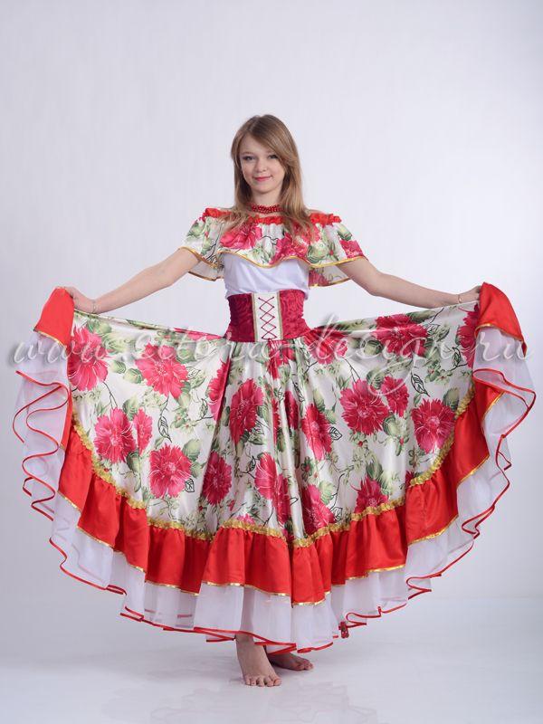 как сшить цыганскую юбку для девочки: 23 тыс изображений ...