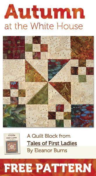 Download Autumn at the White House. | Quilting | Pinterest