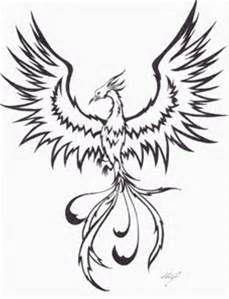 Phoenix Rising From Ashes Coloring Page Bing Images Phoenix Bird Art Phoenix Tattoo Tribal Phoenix Tattoo