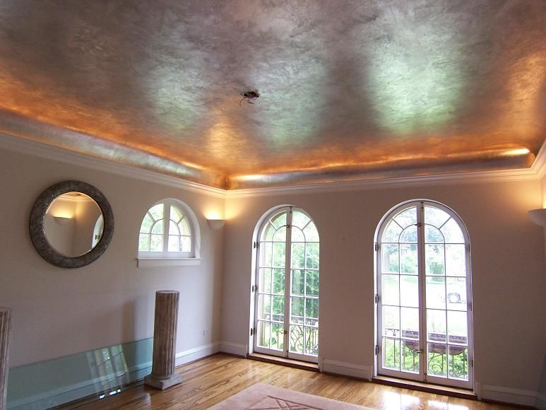 Http Mjpfaux Com Designer Html This Is From A Faux Finish Company A Silver Patina Ceiling New Homes Ranch House House