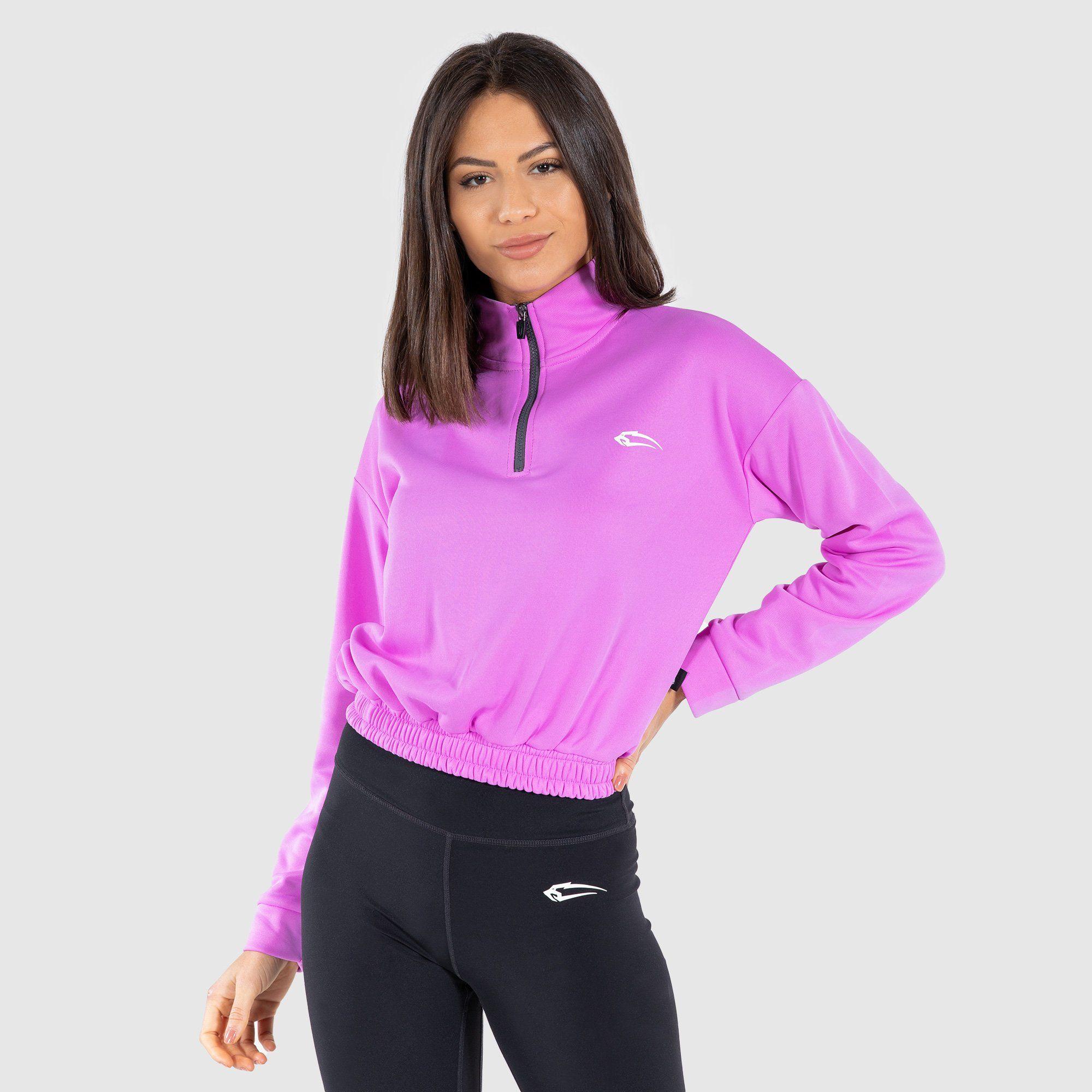 Sweatshirt Glam - Lila / M
