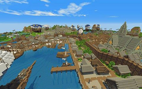 Pin By Mcpe Download On Mcpe Download Minecraft Pe City Minecraft