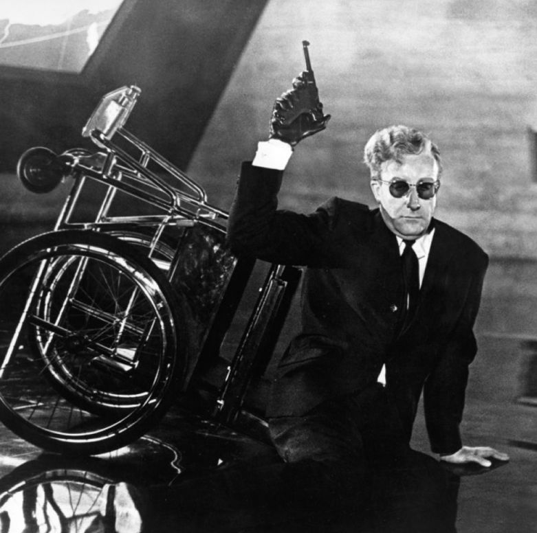 Peter Sellers As Dr Strangelove In Dr Strangelove Or: 'Dr. Strangelove: Or How I Learn To Stop Worrying And Love