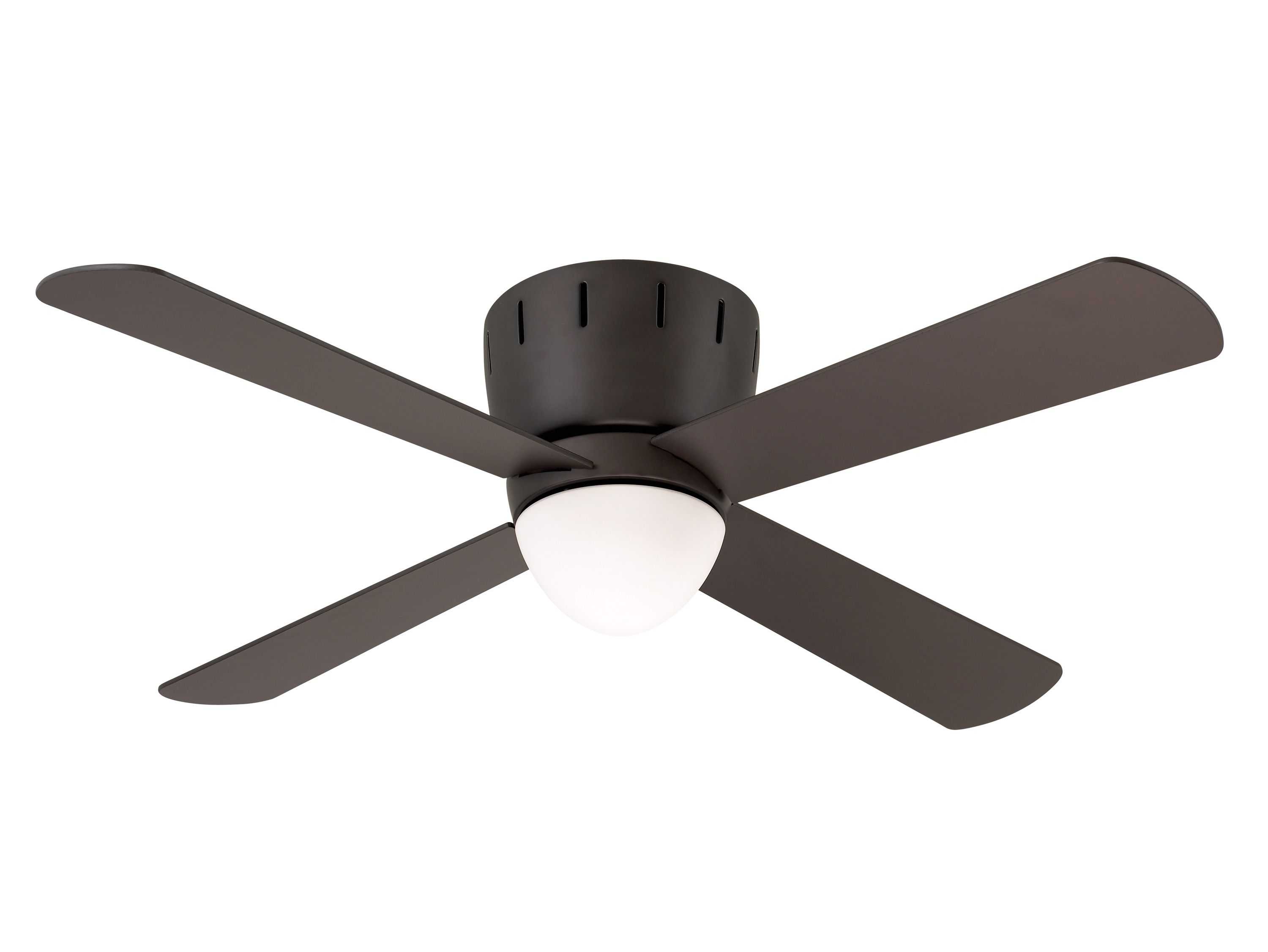 When ceiling height clearance is a concern the Wyatt ceiling fan
