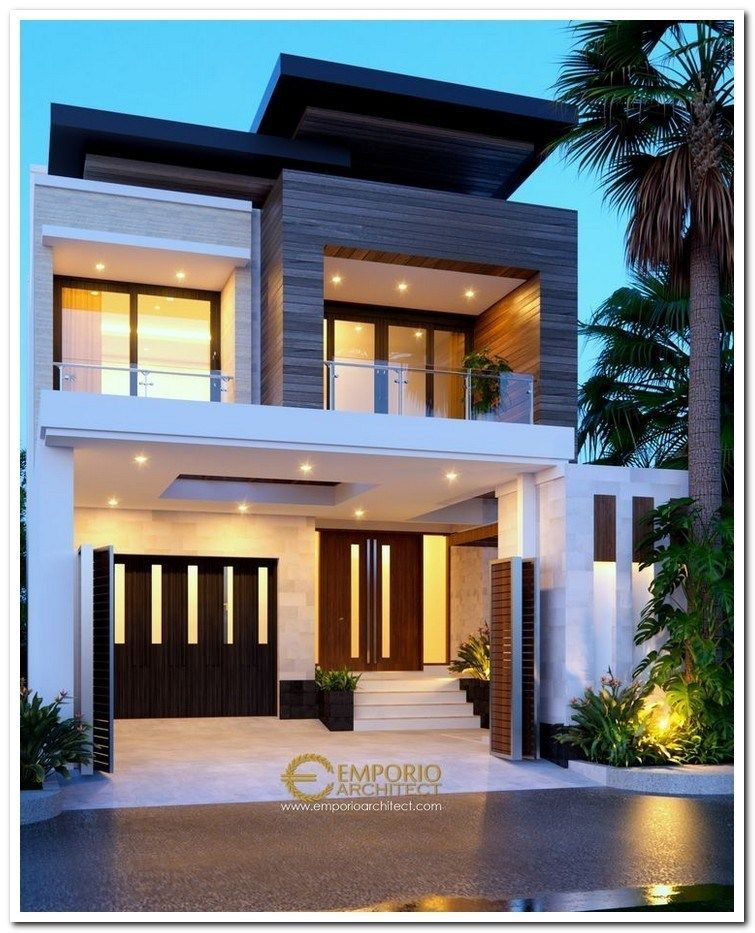 Simple Modern Small House Exterior Design Trendecors