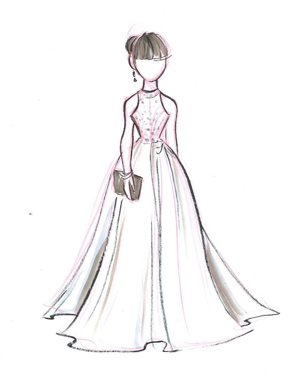 Red Carpet Pregnancy Dress by andy295 on DeviantArt |Red Carpet Dresses Drawings