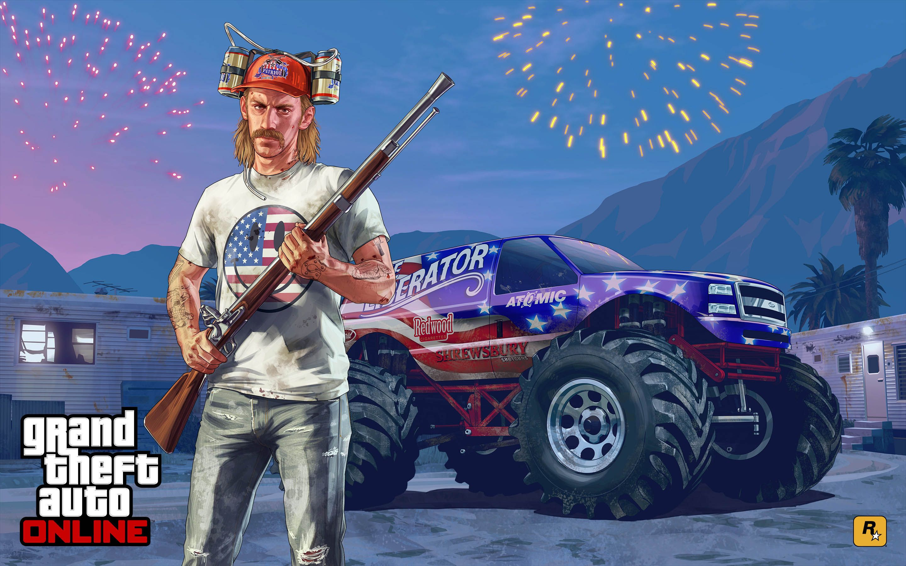 Independence Day Special - GTA 5 Online Update 2880x1800 wallpaper