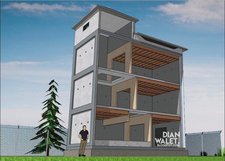Thiết kế ngôi nhà của Swallow's Nest từ chất liệu gỗ