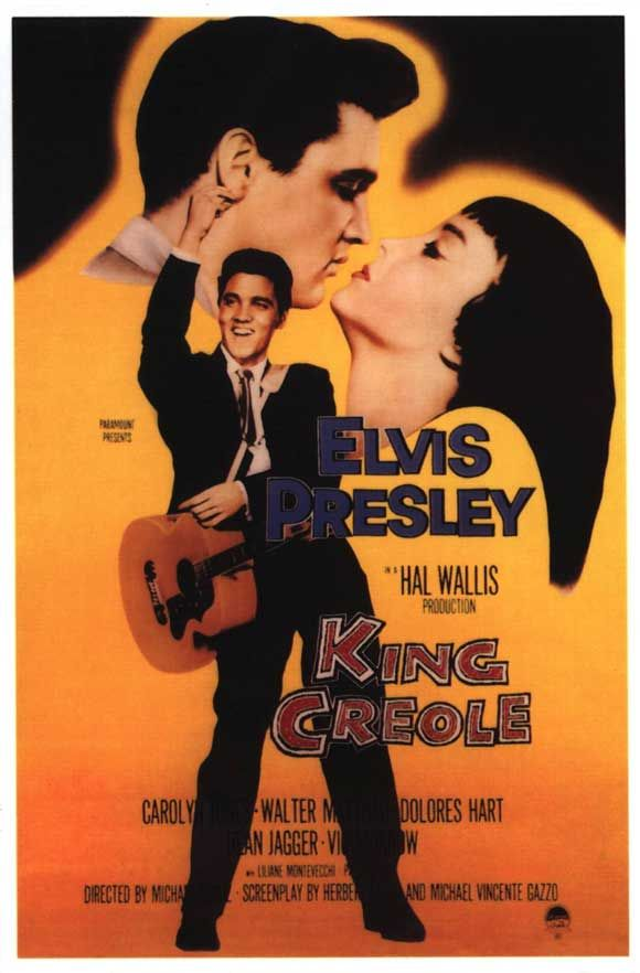 """Elvis - """"King Creole"""" Poster"""