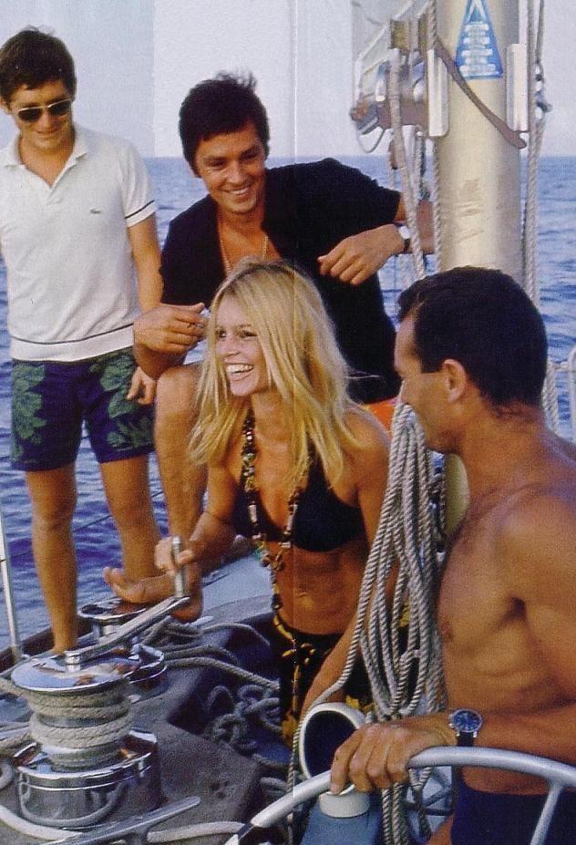 Alain Delon Pic 375023 Delon Brigitte Bardot Bridgitte Bardot