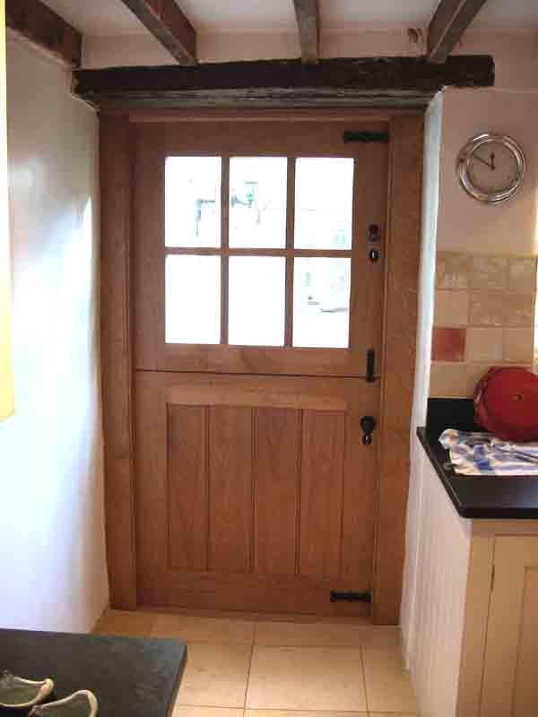 Oak stable door perfect for doors to back gardens home for Hardwood back doors