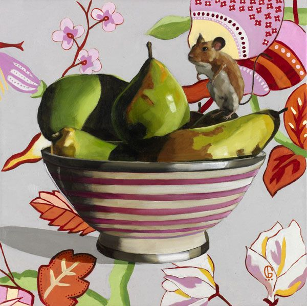 Whimsical still life art by Georgia Fiennes *