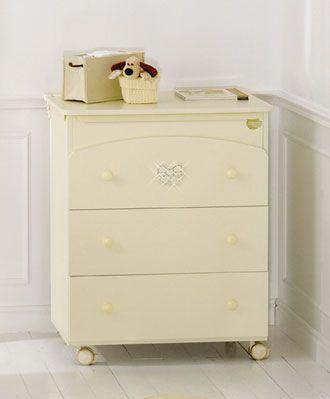 lettino coccolo lux bianco#baby #crib #cot