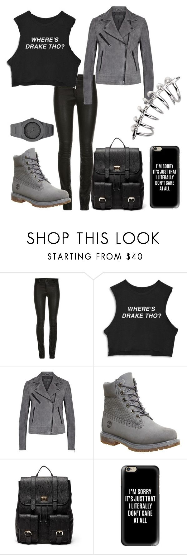 """""""Where tho? ✨"""" by tomboyllama995 on Polyvore featuring rag & bone, Timberland, Sole Society, Casetify and CC"""