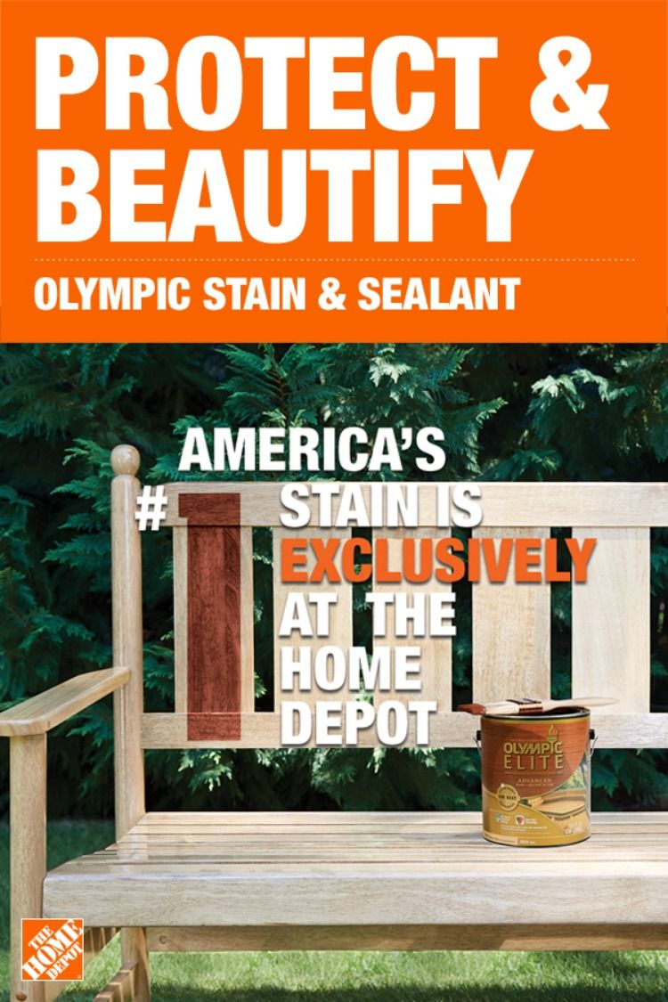 The 1 Rated Stain Is Now Only Available At The Home Depot Choose From Olympic S Wide Variety Of C Woodworking Projects Plans Exterior Stain Woodworking Plans