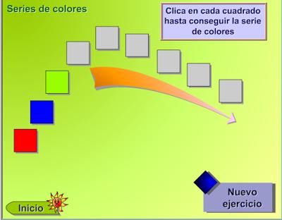 escuela infantil castillo de blanca series de colores