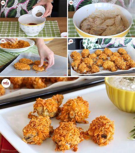 KFC Taste Chicken Wings Recipe Video - Delicious Recipes, #Chicken #Delicious #KFC #Recipe #recipes #Taste #VIDEO #Wings