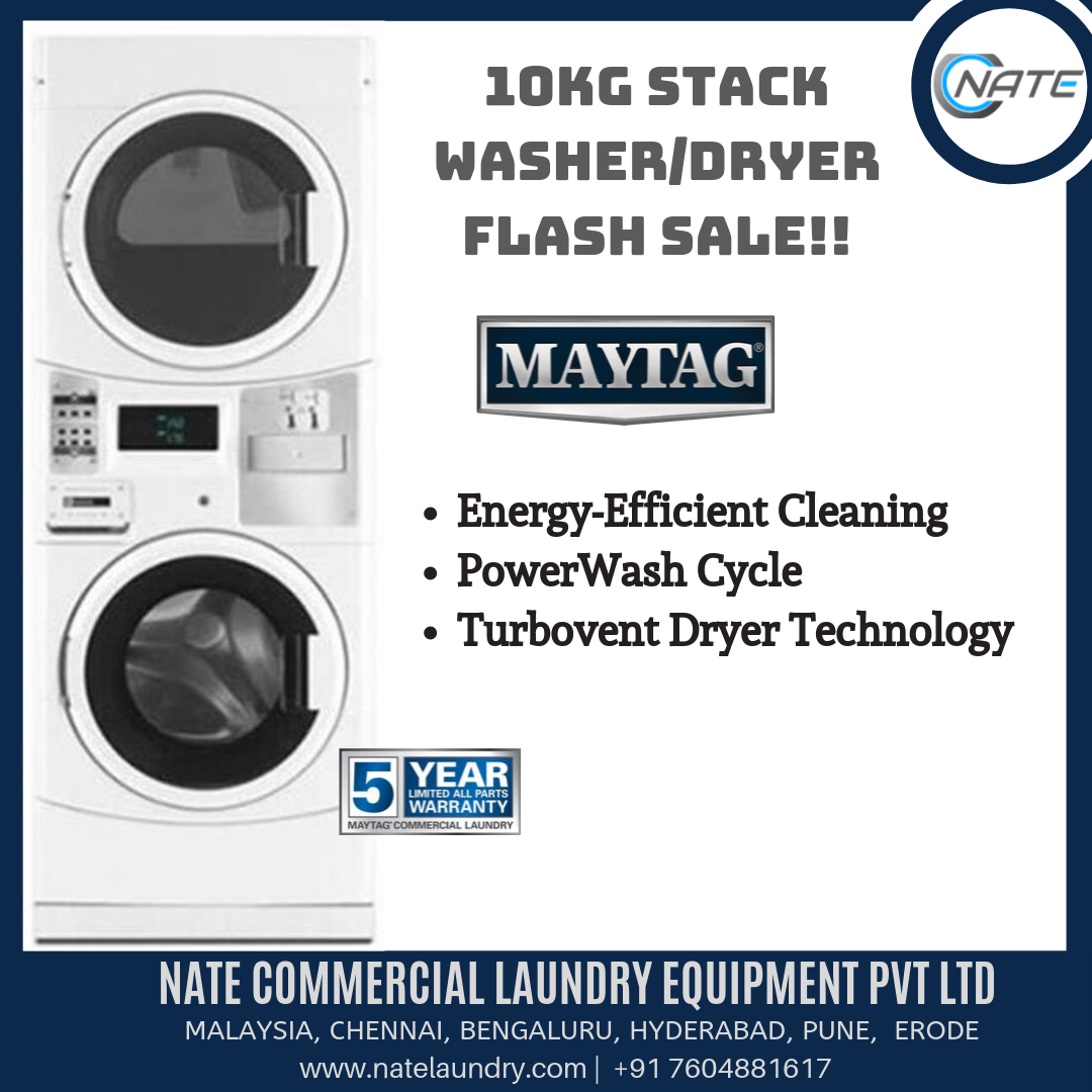 Shop Maytag Stack Washer Dryer For Sale Imported Commercial