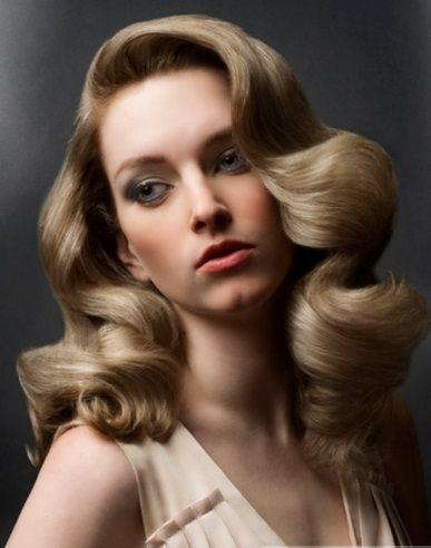 Long Vintage Curls Hair Style 2014 Old Hollywood Hair Hollywood Hair Vintage Curls