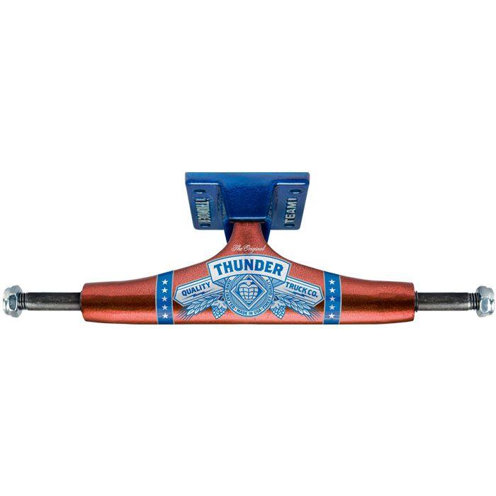 Thunder King Of Trucks 3 Skateboard Trucks 151 Red Blue Red And Blue Skateboard Trucks Red