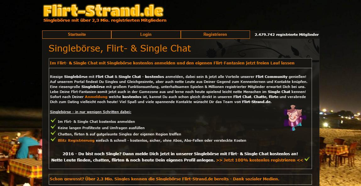 Flirt community kostenlos