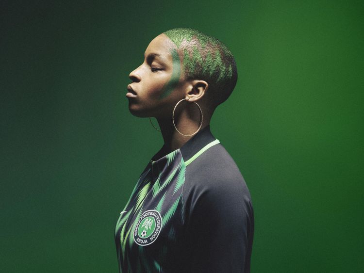 Nigeria World Cup football kit sells out - Nigeria s World Cup football kit  has sold out 2e0278dabdc7c