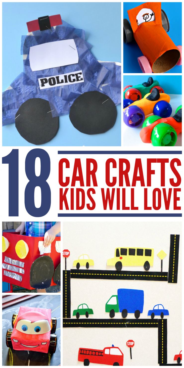 Car Craft For Kids Part - 34: 18 Car Crafts For Kids