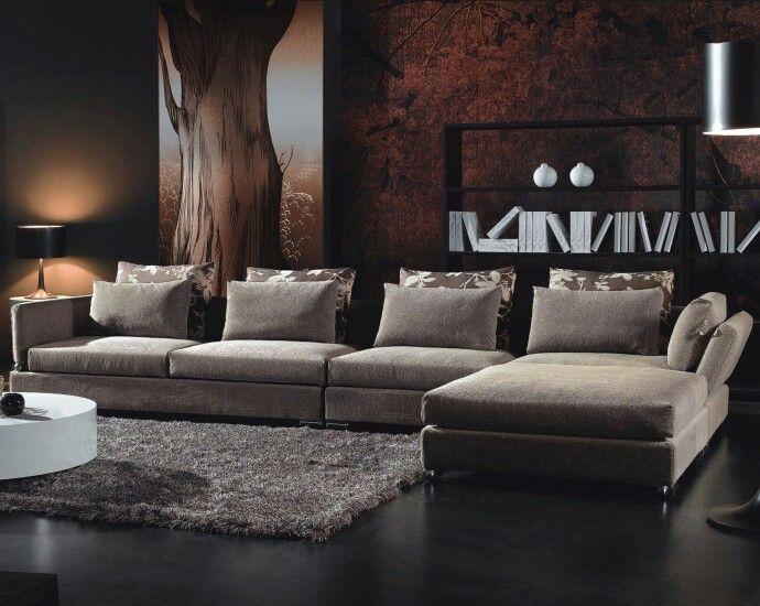 Sillon sofa esquinero deco casa Pinterest - design sofa moderne sitzmobel italien