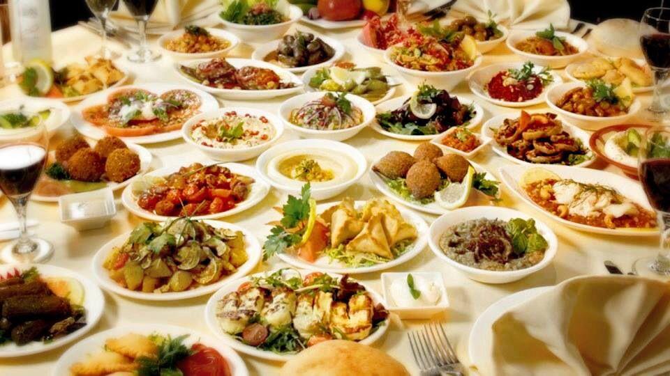 Lebanese meza  # Lebanese food