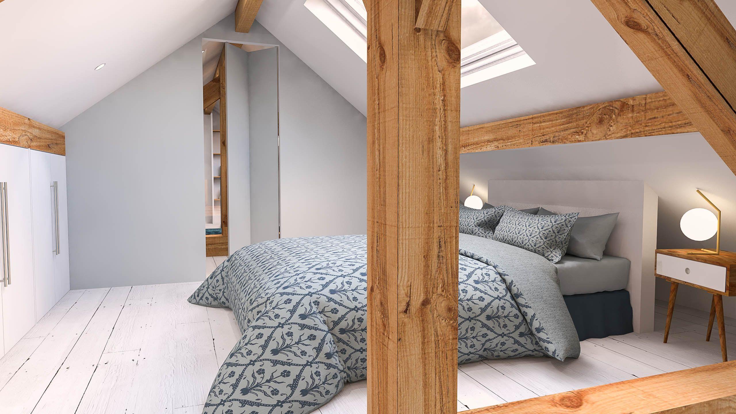 Chambre Comble Petit Espace | Idées décoration - Idées décoration