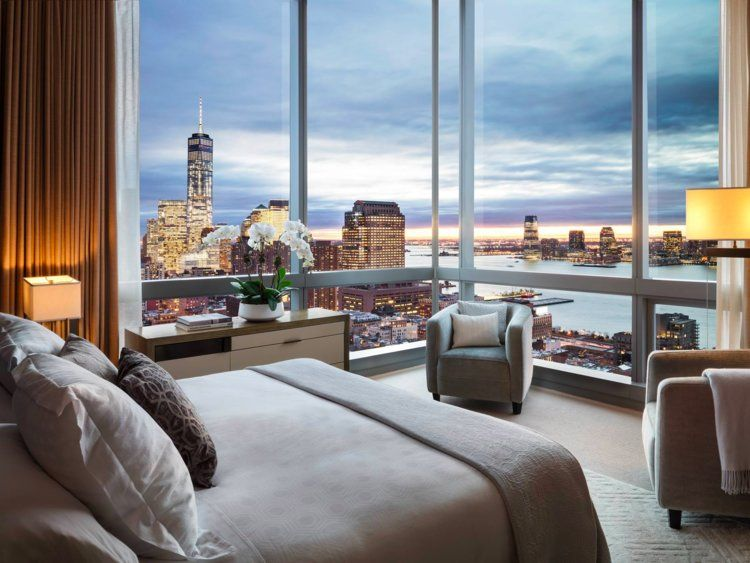 Luxury New York penthouse hotel expensive rich living