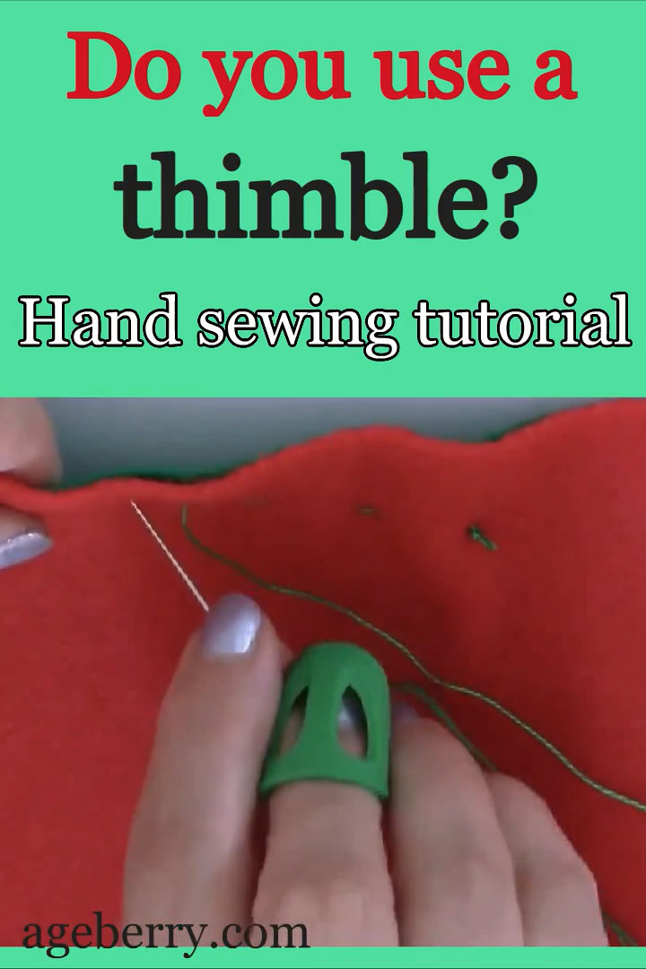 Photo of How to sew by hand / basic hand sewing stitches / video sewing tutorial