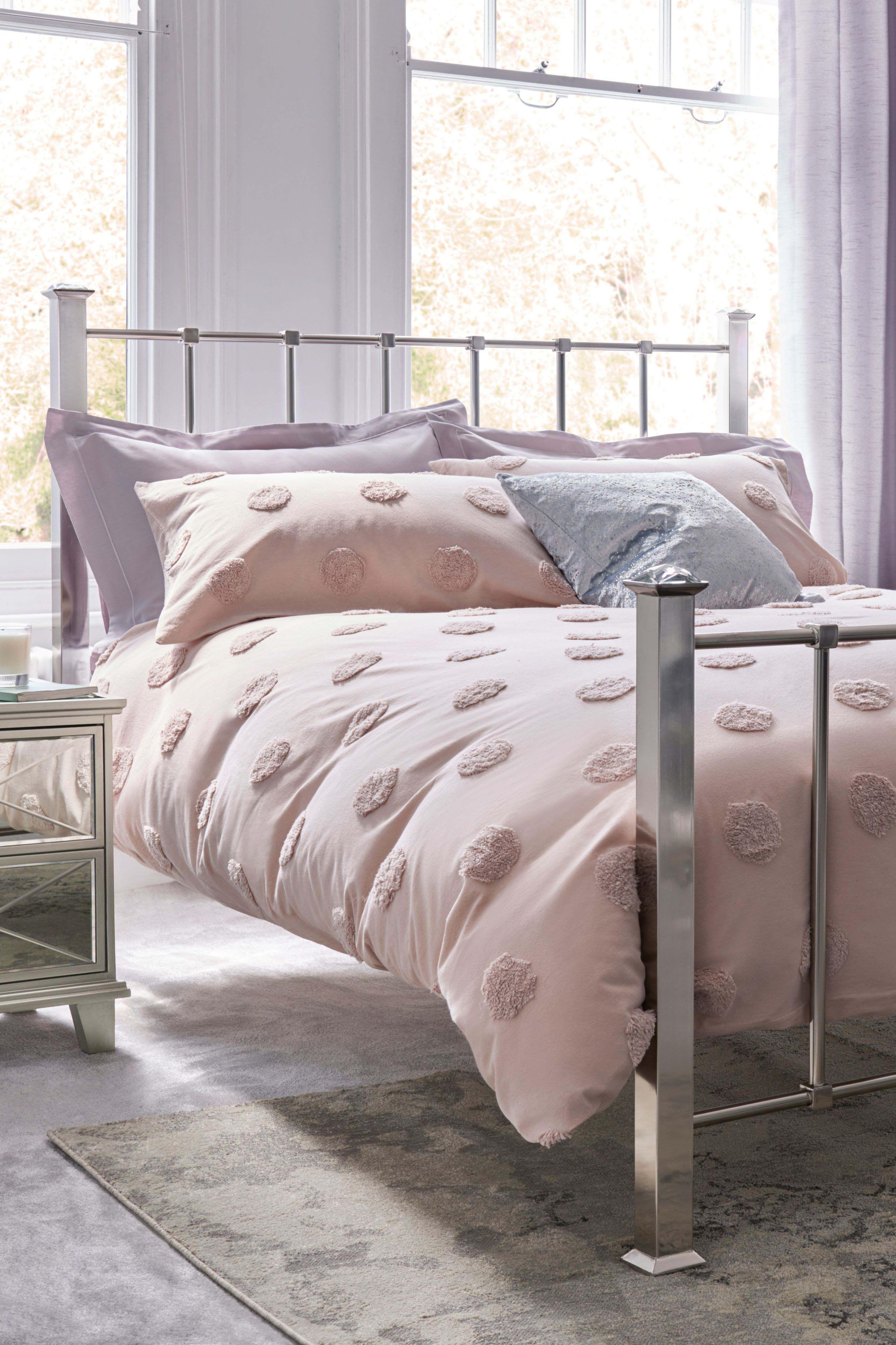 Next Mayfair Bed Silver Bed frames uk, Bedding sets uk